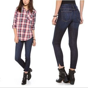 Current Elliot Side Slit Stiletto District Jean 25